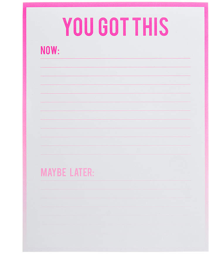 Ombre Large Notepad