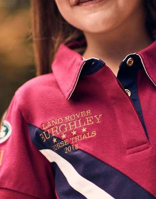 Joules Official burghley 2018 POLO Shirt 32yr