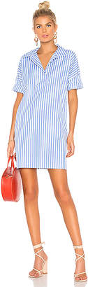 Kule Striped Shirt Dress