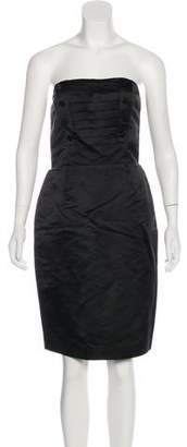 Marc by Marc Jacobs Strapless Satin Dress