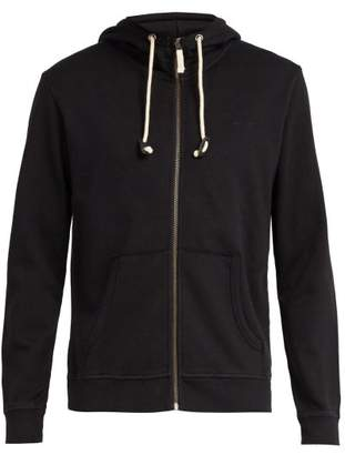 The Upside Staple Zip Up Hooded Sweatshirt - Mens - Black