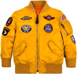 Alpha Industries MA-1 Patch Flight Jacket