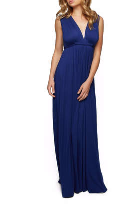 Rachel Pally Blue Sleeveless Maxi Dress