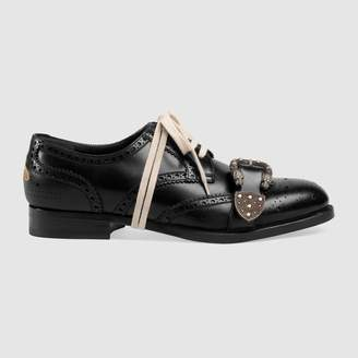 Gucci Queercore brogue shoe