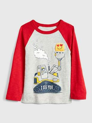Gap Love Graphic Long Sleeve T-Shirt