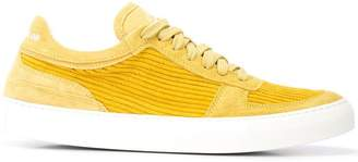 Stone Island corduroy low-top sneakers