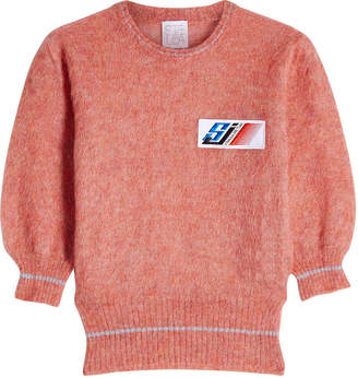 Stella Jean Pullover with Mohair and Wool