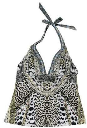 Camilla Printed Swimsuit Top w/ Tags