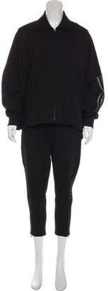 Y-3 Dolman Sleeve Knit Pant Set