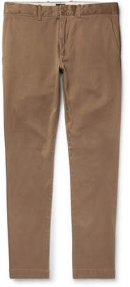 J.Crew 484 Slim-Fit Stretch-Cotton Twill Chinos - Brown