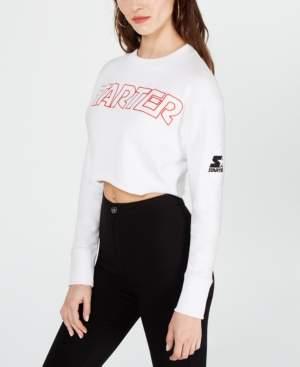 Starter Cropped Graphic Sweatshirt
