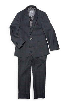 Appaman Boys' Windowpane Plaid Two-Piece Mod Suit, 2-14