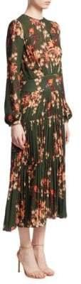 Johanna Ortiz Counter Culture Silk Pleat Dress