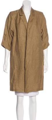 Dries Van Noten Structured Linen Jacket w/ Tags