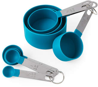 Core Bamboo Blue Stackable Measuring Cup & Spoon Sets