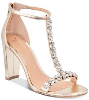 Badgley Mischka Morley Embellished Evening Sandals Women's Shoes