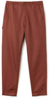 Lacoste Men's Cotton And Linen Twill Pants