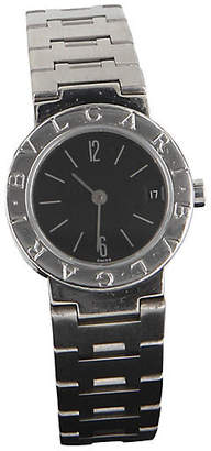 One Kings Lane Vintage Bvlgari BB 23 SSD Stainless Steel Watch - Precious & Rare Pieces