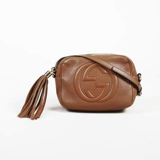 12be84c3e Pre-Owned at Vestiaire Collective · Gucci Soho Brown Leather Handbag