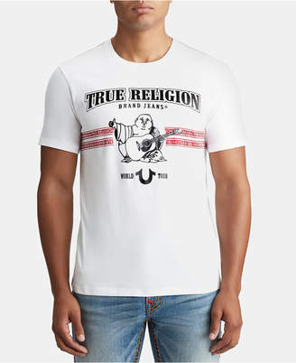 True Religion Mens New Craft Graphic T-Shirt