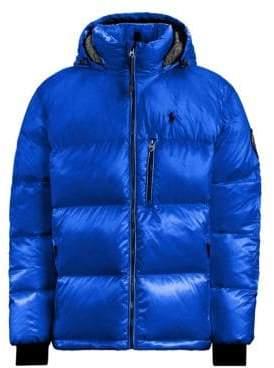 Polo Ralph Lauren Faux-Shearling Lined Down Puffer Coat