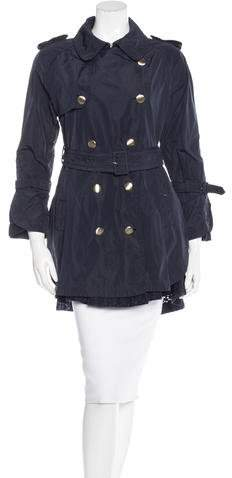 MonclerMoncler Long Sleeve Trench Coat