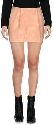 Gold Case Mini skirt