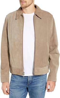 Rag & Bone Regular Fit Suede Garage Jacket