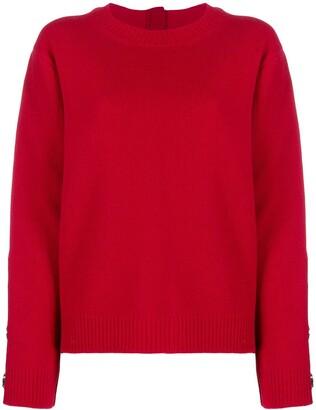 No.21 embellished zipped jumper