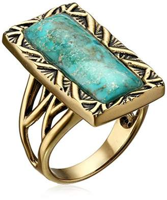 Barse Parallel Bronze and Genuine Ring