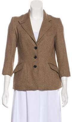 Steven Alan Virgin Wool Herringbone Blazer