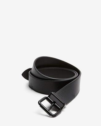 Express Reversible Matte Square Prong Leather Belt