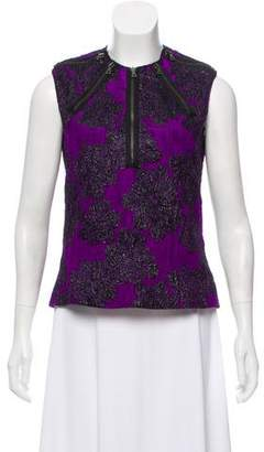 Proenza Schouler Brocade Sleeveless Top