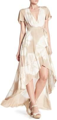 AAKAA Long Multi Print Day Dress