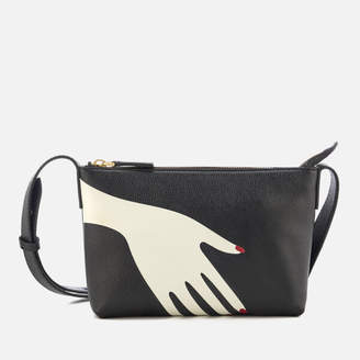 Lulu Guinness Women's Marie The Hug Cross Body Bag - Black