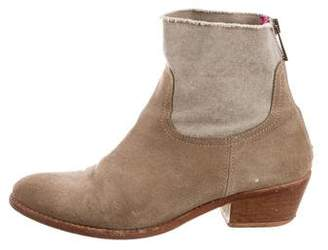 Zadig & Voltaire Round-Toe Ankle Boots