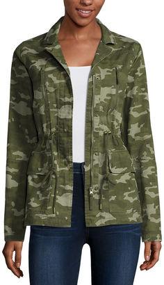 ARIZONA Arizona Long-Sleeve Twill Anorak Jacket $68 thestylecure.com