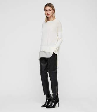 AllSaints Libby Crew Neck Sweater