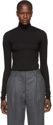 Acne Studios Black Turtleneck Bodysuit