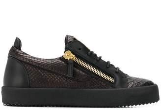 Giuseppe Zanotti Design Nicki snake-effect sneakers