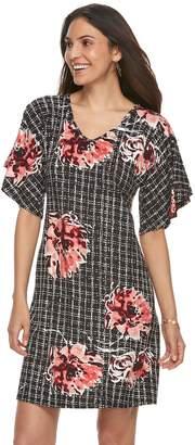 Apt. 9 Women's Flutter Shift Dress