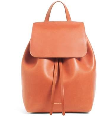 Mansur Gavriel Brandy Mini Backpack - Brick