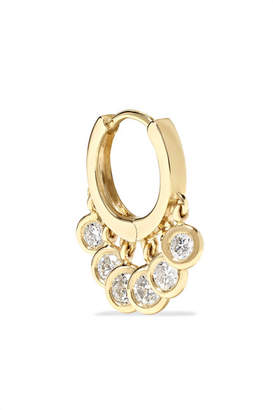 Jacquie Aiche 14-karat Gold Diamond Earring