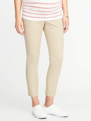 Old Navy Maternity Full-Panel Pixie Chinos