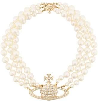 Vivienne Westwood Bass Relief choker necklace