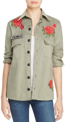 Benjamin Jay Embroidered Army Jacket - 100% Exclusive