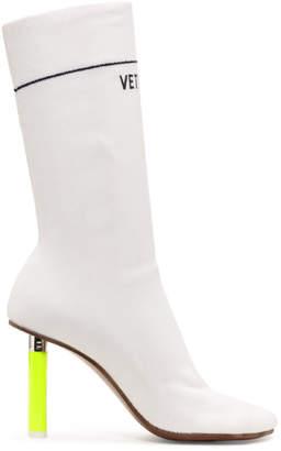 Vetements White Lighter Sock Boots