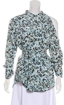 Proenza Schouler Silk Button-Up Blouse w/ Tags