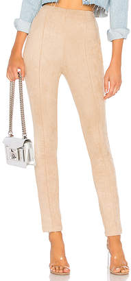 About Us Nala Faux Suede Skinny Pants
