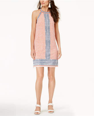 Maison Jules Printed Halter-Neck Dress, Created for Macy's